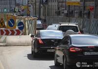 Москва встала в восьмибальных пробках